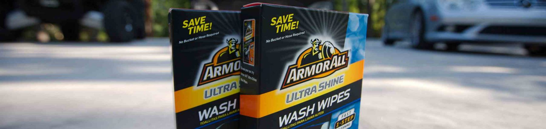 The Armor All Ultra Shine Wash Wipes Torture Test!